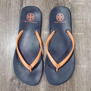 Tory Burch Flip flops size 10
